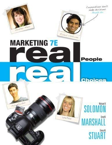 Marketing: Real People, Real Choices: Michael R. Solomon,