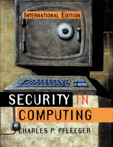 9780131857940: Security in Computing (Prentice Hall international editions)