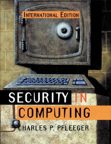 9780131857940: Security in Computing: International Edition (Prentice Hall International Editions)