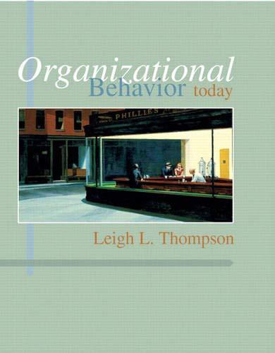 9780131858114: Organizational Behavior Today