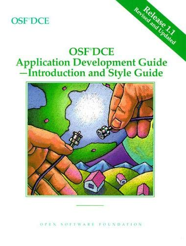 9780131858770: OSF DCE Application Development Guide, Volume I: Introduction and Style Guide Release 1.1