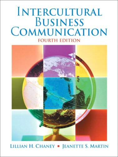 9780131860094: Intercultural Business Communication
