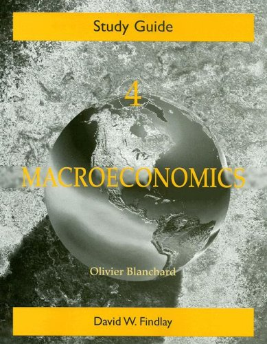 9780131860339: Study Guide for Macroeconomics