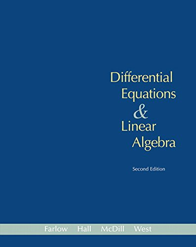 9780131860612: Differential Equations and Linear Algebra (2nd Edition)