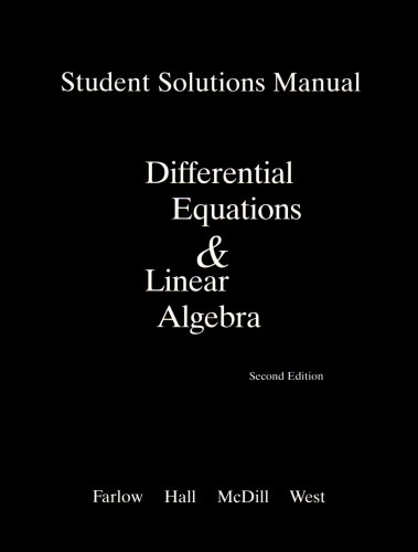 9780131860636: Student Solutions Manual for Differential Equations and Linear Algebra