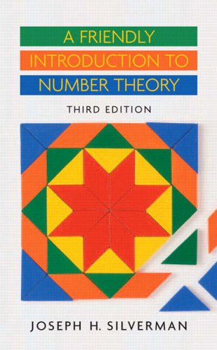 9780131861374: A Friendly Introduction to Number Theory (3rd Edition)