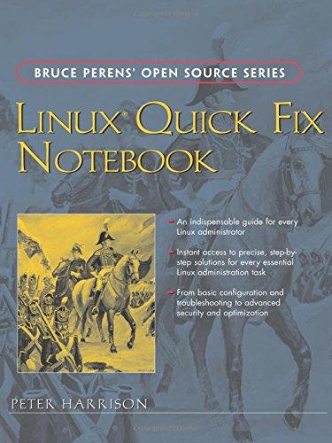 9780131861503: Linux Quick Fix Notebook