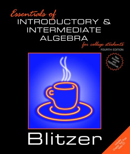 9780131865556: Essentials of Introductory and Intermediate Algebra for College Students