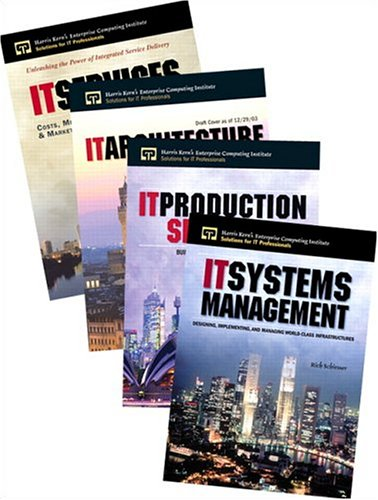 IT Professional Bundle: Ideal for those Responsible for Creating and Managing IT Infrastructures (0131865579) by Anthony Tardugno; Harris Kern; Jane Carbone; Mayra Muniz; Rich Schiesser; Robert Matthews; Thomas DiPasquale