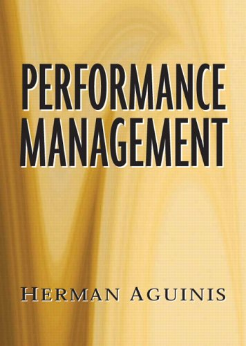Performance Management: Herman Aguinis