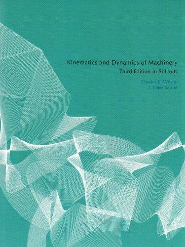 9780131866416: Kinematics and Dynamics of Machinery
