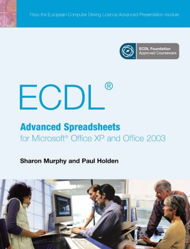 9780131866546: ECDLAdvanced Spreadsheets for Office XP & 2003