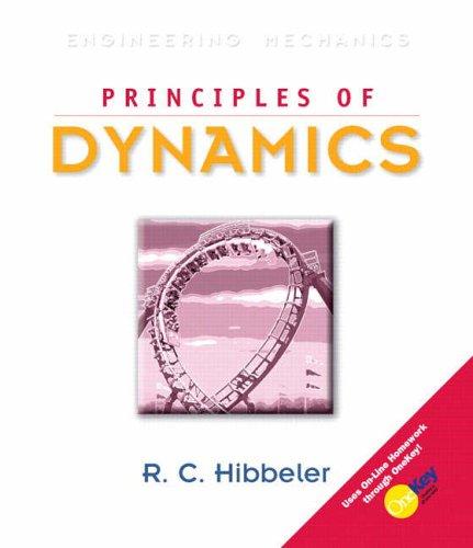 9780131866812: Principles of Dynamics (10th Edition)