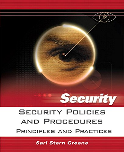 9780131866911: Security Policies and Procedures: Principles and Practices