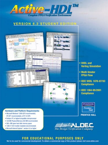 9780131866973: Active-HDL 6. 3 Student Edition
