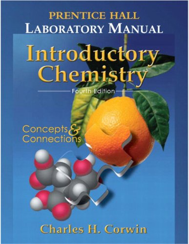 9780131867079: Prentice Hall Lab Manual Introductory Chemistry (4th Edition)