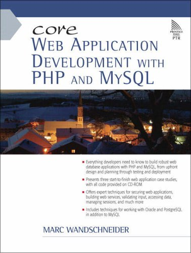 9780131867161: Core Web Application Development with PHP and MySQL