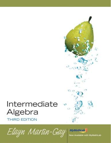 9780131868304: Intermediate Algebra