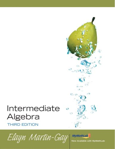 9780131868304: Intermediate Algebra, 3rd Edition