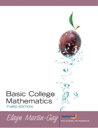 9780131868366: Basic College Mathematics (3rd Edition)
