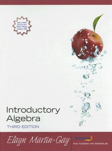 9780131868397: Introductory Algebra (Hardcover) (3rd Edition)