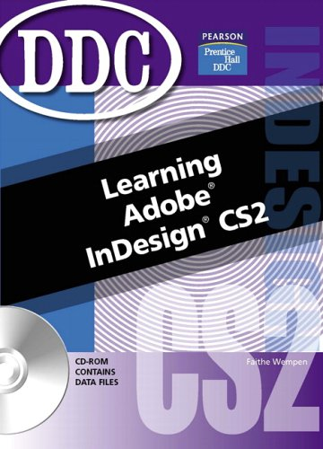 9780131868939: Learning Adobe InDesign