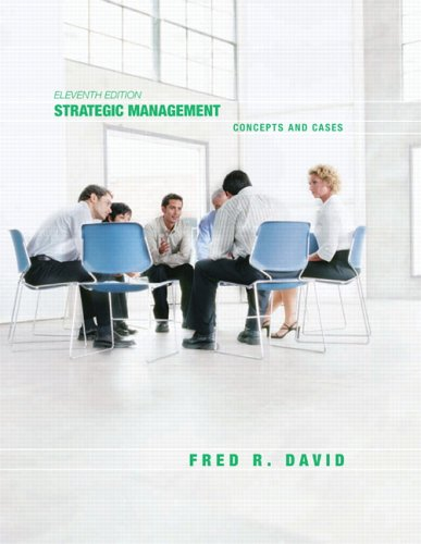 9780131869493: Strategic Management: Concepts and Cases (11th Edition)