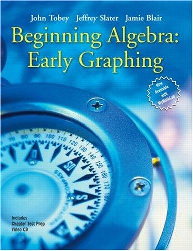9780131869790: Beginning Algebra: Early Graphing