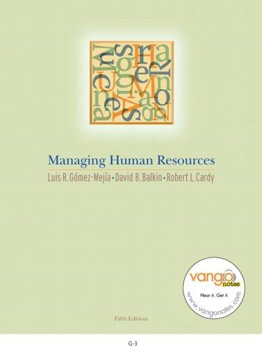 9780131870673: Managing Human Resources