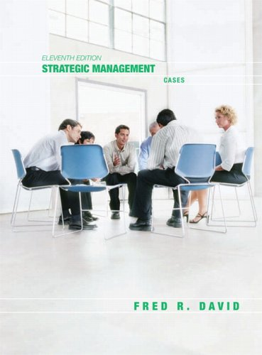 9780131871304: Strategic Management: Cases (Strategic Management: Concepts and Applications)
