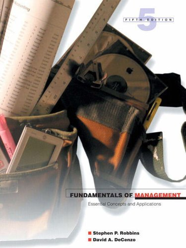9780131871366: Fundamentals of Management: Essential Concepts and Applications