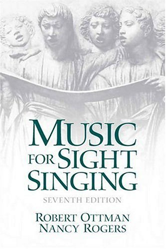 9780131872349: Music for Sight Singing (7th Edition)