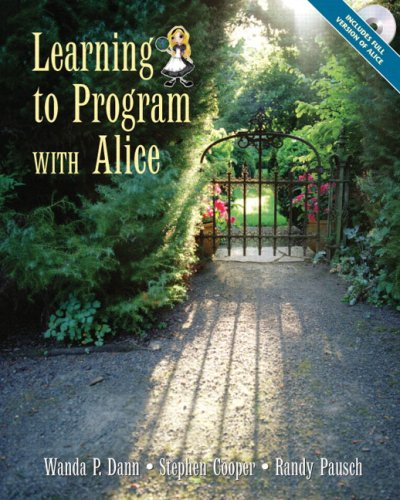 9780131872899: Learning to Program with Alice