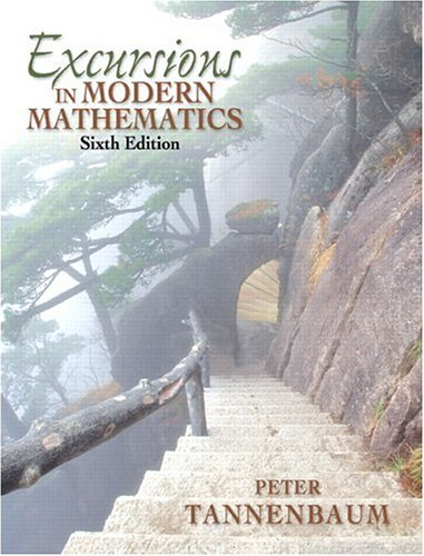 9780131873636: Excursions in Modern Mathematics (6th Edition)