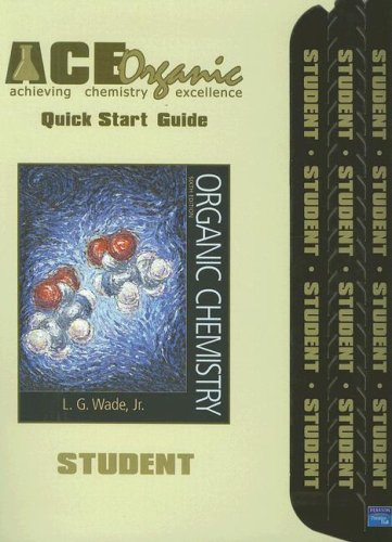 9780131874114: Ace Organic Chemistry: Quick Start Guide, 6th Edition