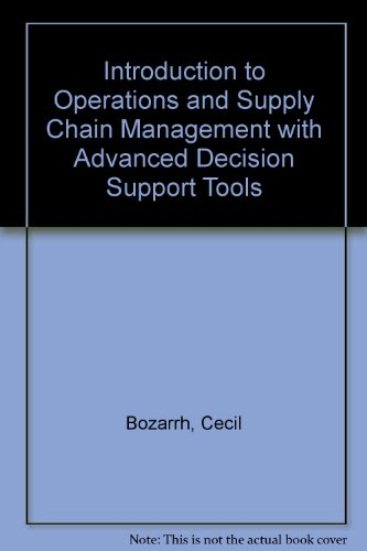 9780131874800: Advanced Decision Support Tools