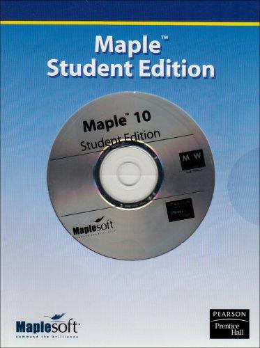 9780131875135: Maple 10