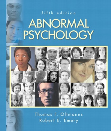 9780131875210: Abnormal Psychology (5th Edition)