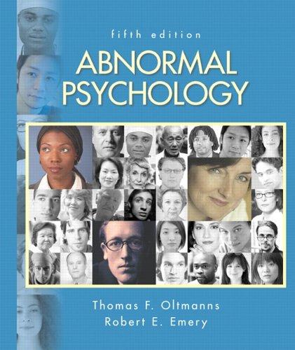 9780131875210: Abnormal Psychology (5th Edition)