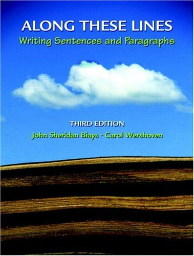 9780131875227: Along These Lines: Writing Sentences and Paragraphs (3rd Edition) (MyWritingLab Series)