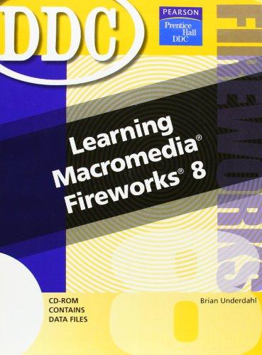 9780131875470: Learning Macromedia Fireworks 8