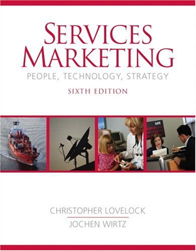 9780131875524: Services Marketing (6th Edition)