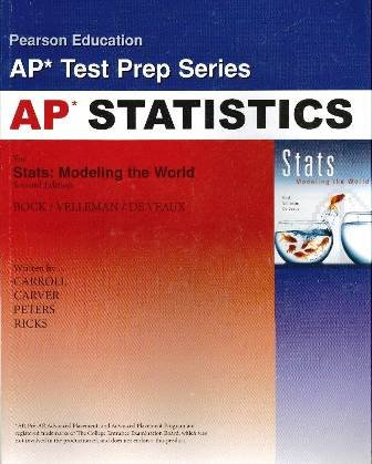 9780131876224: AP* Test Prep Workbook for Stats: Modeling the World, 2nd Edition