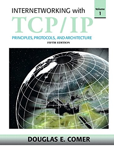 9780131876712: Internetworking with TCP/IP: Principles, Protocols and Architecture: v. 1