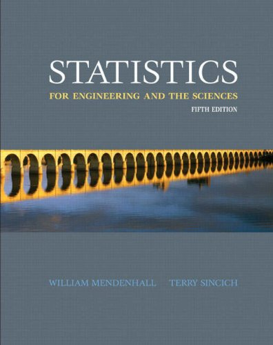 9780131877061: Statistics for Engineering and the Sciences (5th Edition)