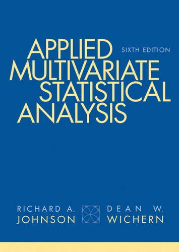 9780131877153: Applied Multivariate Statistical Analysis (6th Edition)