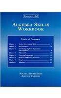 9780131877344: Algebra Skills Workbook