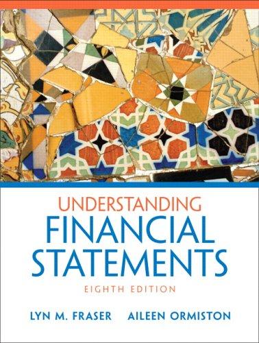 9780131878563: Understanding Financial Statements (8th Edition)