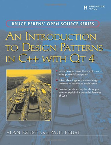 9780131879058: An Introduction to Design Patterns in C++ with Qt 4 (Bruce Perens Open Source)