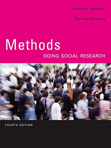 9780131879256: Methods: Doing Social Research (4th Edition)